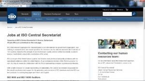 ISO Job 300x168 فرصت هاي شغلي سازمان بين المللي استاندارد (ايزو)